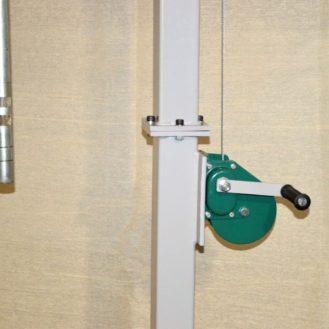 lubrication pump hoist